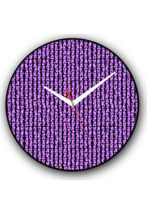 Relógio De Parede Colours Creative Photo Decor Decorativo, Criativo E Diferente - Montagem De Tijolos