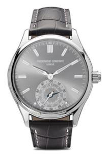 Frédérique Constant Horological Smartwatch Gents Classics 42Mm - Light Grey Color Dial With Sunray Decoration