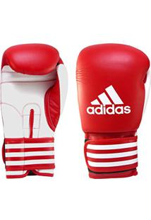 567ca302d Luva De Boxe Adidas Ultima Vermelho Branco 10 Oz