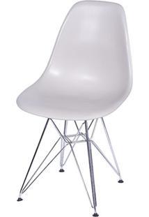 Cadeira Eames Polipropileno Fendi Cromada - 32066 Sun House