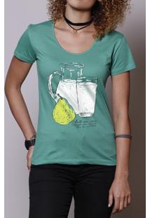 Camiseta Leite Com Pera