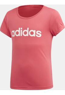 Blusa Adidas Cardio Rosa Infantil