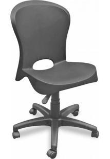 Cadeira De Escritório Secretária Jolie Preto