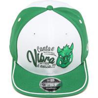 Boné New Era Snapback Palmeiras Verde Branco 95e9df63eaa