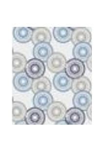 Papel De Parede Adesivo Decoração 53X10Cm Azul -W22572
