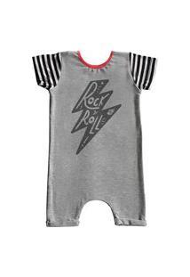 Pijama Curto Comfy Raio Rock