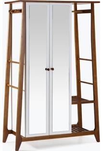 Armário/Roupeiro Multiuso Stoka - 2 Portas Branco Laca M33