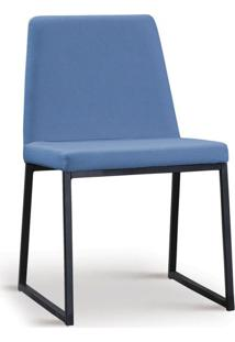 Cadeira De Jantar Yanka Azul Jeans