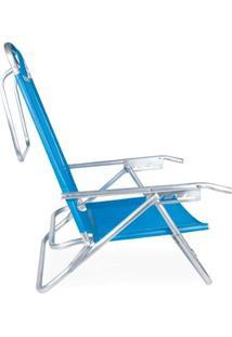 Cadeira Reclinável Alumínio 5 Posições - Unissex