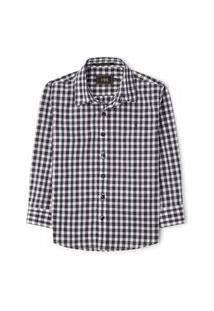 Camisa Infantil Xadrez