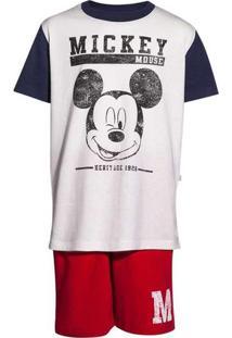 Pijama Infantil Menino Estampado Mickey And Friend
