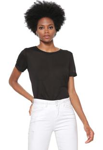 Camiseta Jdy Lisa Preta