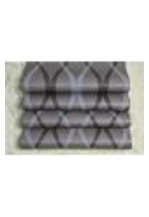 Papel De Parede Importado Vinilico Lavavel 53Cm X 10M Listrado Marrom, Branco E Preto