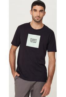 Camiseta Masculina Manga Curta Flamê Slim