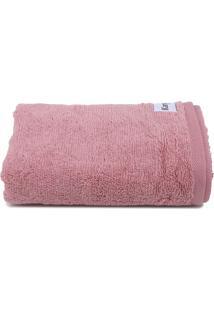 Toalha De Rosto Karsten Cotton Class Fio Penteado 48X80Cm Lady Pink