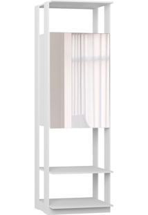 Estante Armário C/Espelho Branco Tx Be Mobiliário