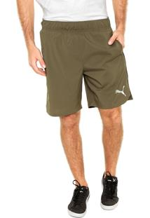 Short Puma Styfr-Essential Woven Verde