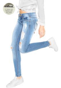 e5407822b Dafiti Sports. Calça Jeans Colcci Skinny Extreme Power Katy Azul