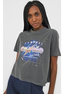Camiseta Cantão Box Mistica Cinza