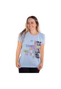 Camiseta Birdz Estampada Azul