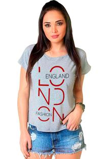 Camiseta Shop225 London Mescla