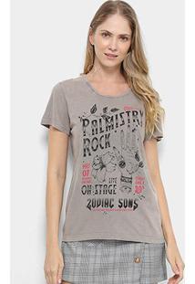 Camiseta Manga Curta Colcci Zodiac Sons Feminina - Feminino