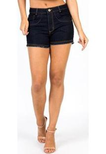 Short Vitrine Casual S Hot Pants - Feminino-Preto