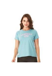 Camiseta Ecko Feminina Estampada Verde