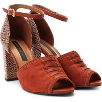 c42bbcce9 Sandália Jorge Bischoff Marsala feminina | Shoes4you