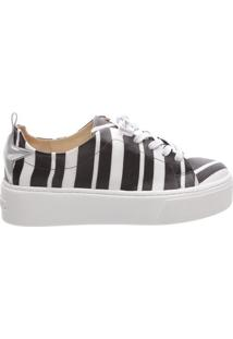 Tênis Pull Black And White | Schutz