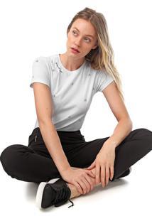 Camiseta Calvin Klein We Love Branca