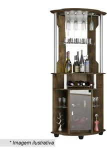 Bar De Canto Talismã Plus- Madeira Rústica- 177,5X80Bechara