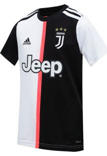 Camisa Infantil Adidas Juventus I Branco/Preto - Pp