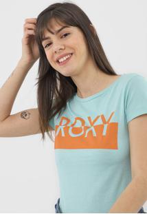 Camiseta Roxy Go Club Verde - Verde - Feminino - Dafiti