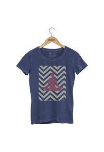 Camiseta Forseti Estonada Meditação Azul