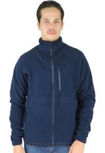 Casaco Térmico Masculino Thermo Fleece - Masculino-Azul Escuro