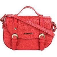 0bd8a8cdfb Bolsa Couro Colcci Mini Bag Floater Fivelas Feminina - Feminino-Vermelho