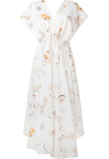 Tara Matthews Seashell Printed Dress - Neutro
