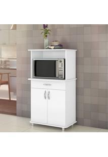 Armário De Cozinha Para Forno 2 Portas 1 Gaveta Classic Branco New - Notavel
