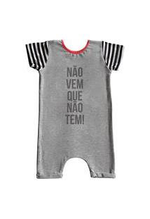 Pijama Curto Comfy Náo Vem