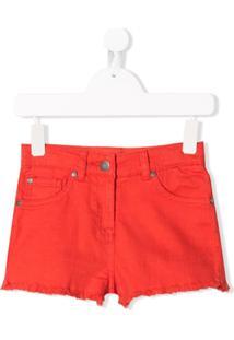 Stella Mccartney Kids Short Jeans - Vermelho