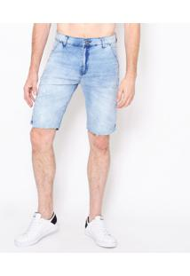 Bermuda Jeans Ice Blue Emporio Alex Jeans Off-White
