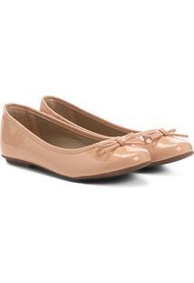 7b17410433 Sapatilha Infantil Shoestock Verniz Feminina - Feminino-Rosa Claro