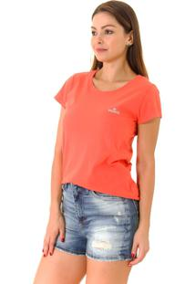 Camiseta Opera Rock T-Shirt Coral