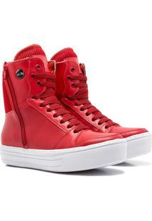 Sneaker K3 Fitness Sleek Vermelho - Kanui