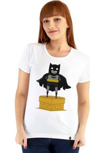 Baby Look Ouroboros Manga Curta Batman Toy - Feminino