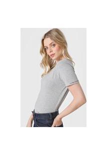 Camiseta Calvin Klein Jeans Lisa Cinza