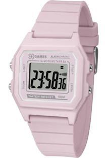 Relógio X-Games Feminino Xstyle Digital Rosa Xlppd026-Bxrx