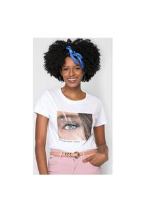 Camiseta Lez A Lez Eye Contact Branca