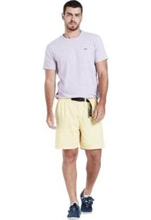 Bermuda Levis Lined Climber - Masculino-Amarelo